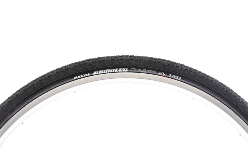 Maxis Rambler Tire 700x40c 120 TPI Tubeless EXO drive side