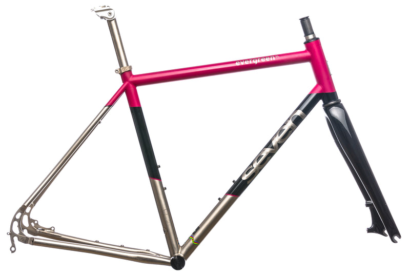 Seven Cycles Evergreen SL Custom 58cm Frameset - 2015 drive side