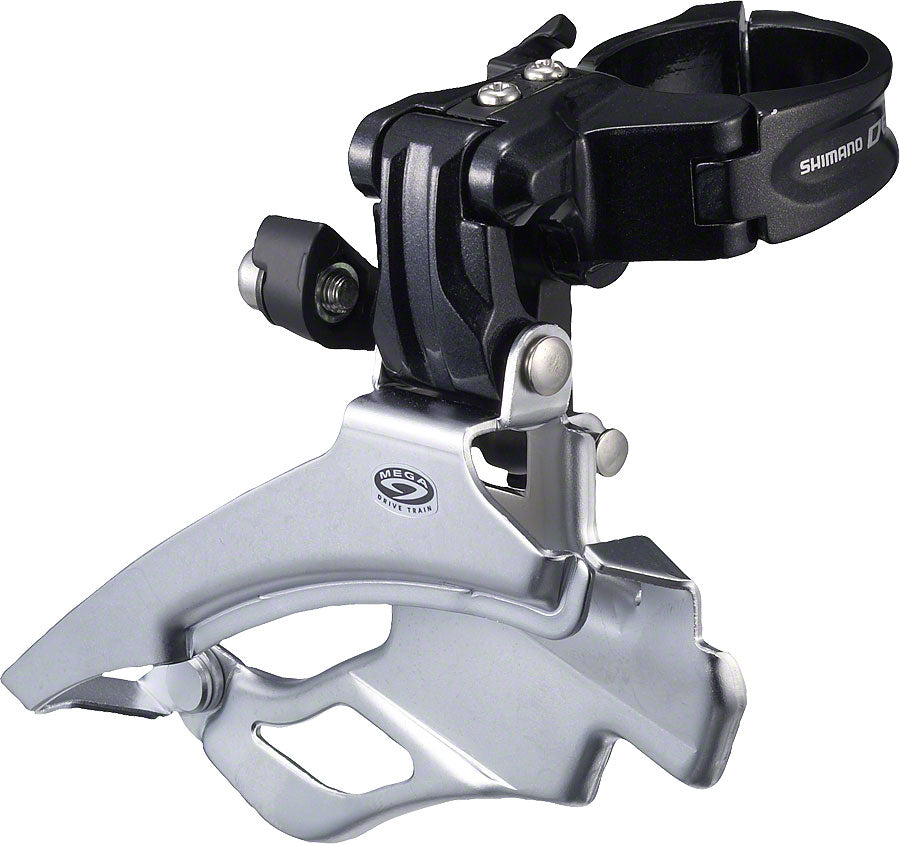 Shimano Deore FD-M591-6 Front Derailleur 9 Speed 34.9mm Clamp drive side