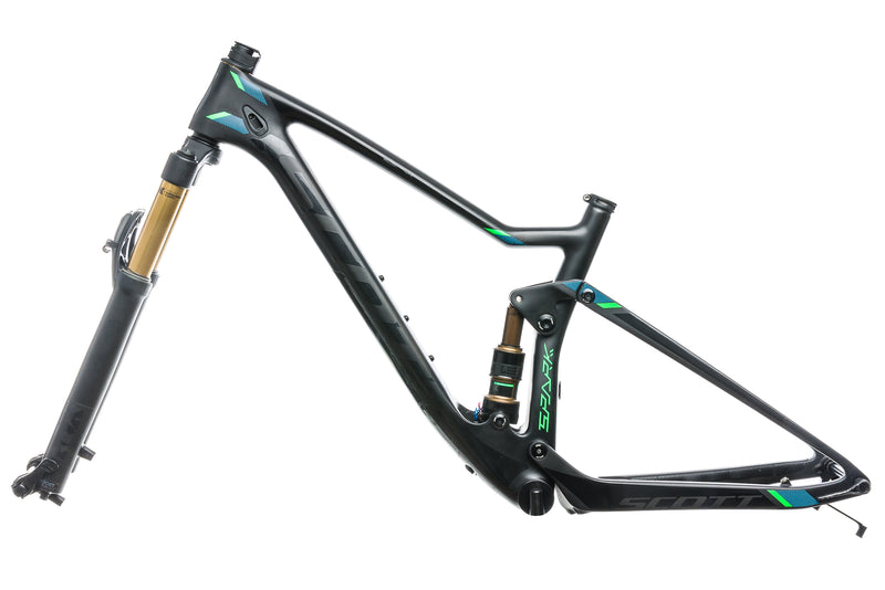 Scott Spark 700 Ultimate Small Bike Frameset - 2017 non-drive side