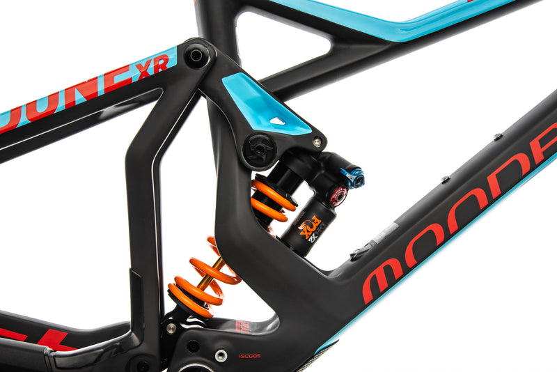 Mondraker Dune Carbon XR Medium Frame - 2018 cockpit