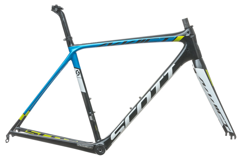 Scott Addict Team 54cm Bike Frame Set - 2015 drive side