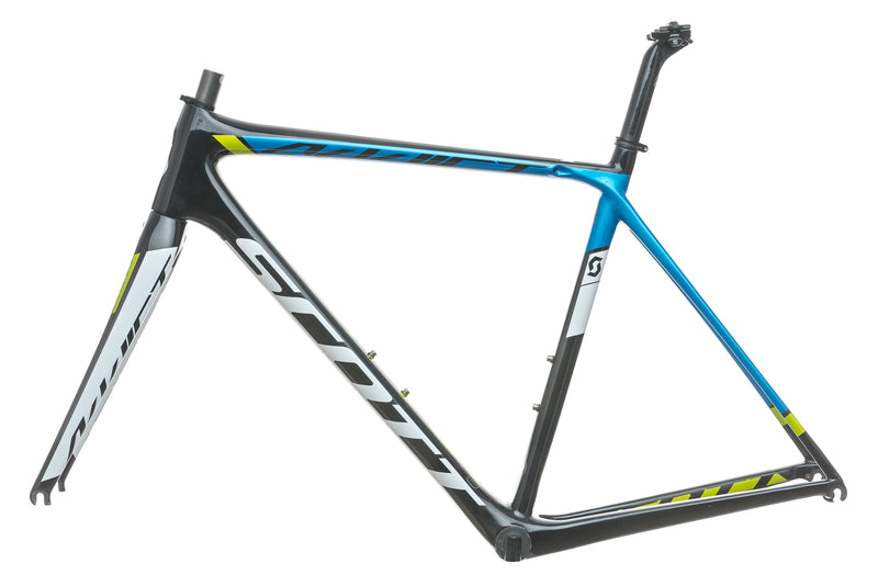 Scott Addict Team 54cm Bike Frame Set - 2015 non-drive side