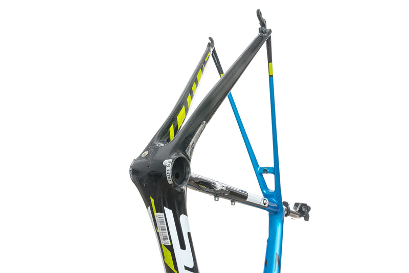 Scott Addict Team 54cm Bike Frame Set - 2015 crank
