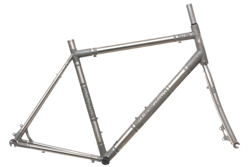 Black Sheep Custom Titanium Disc Road 55cm Bike drive side