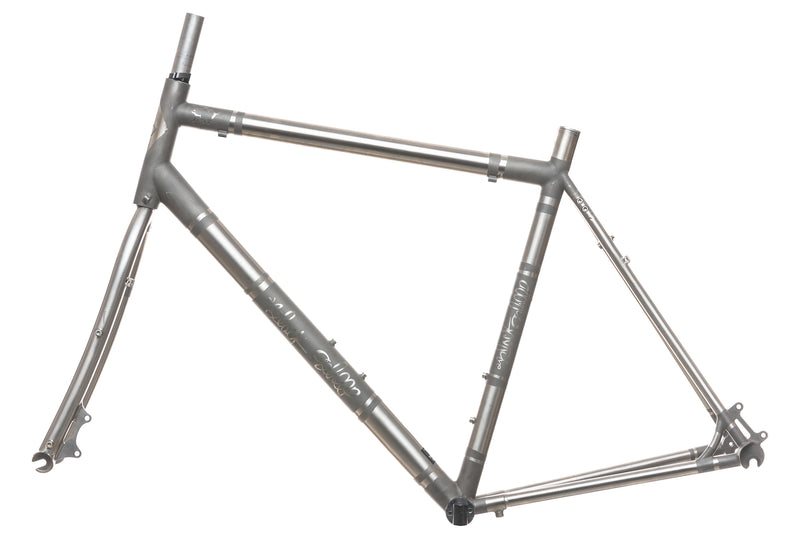 Black Sheep Custom Titanium Disc Road 55cm Bike non-drive side