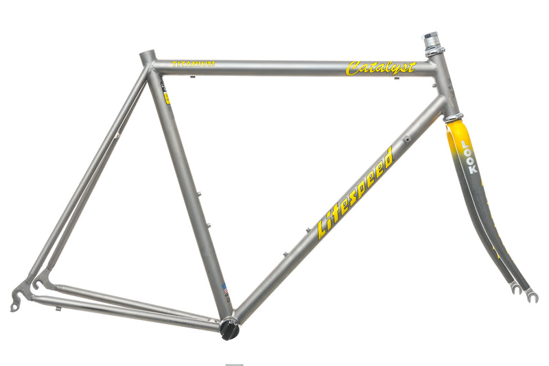 Litespeed Catalyst 57cm Frameset - 1994 drive side
