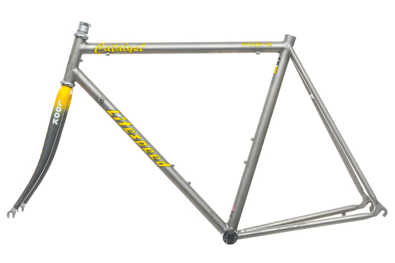 Litespeed Catalyst 57cm Frameset - 1994 non-drive side