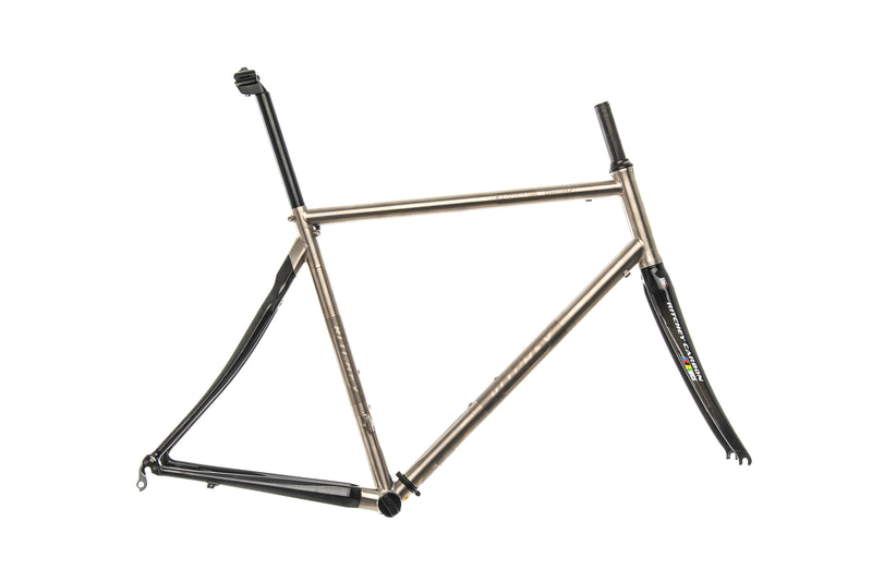 Ritchey BreakAway Titanium Medium Frameset drive side