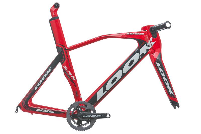 LOOK 596 I-Pack Large Frameset - 2009 drive side
