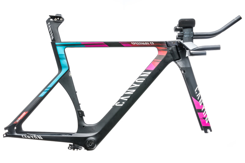 Canyon Speedmax CF Small Frameset - 2016 drive side