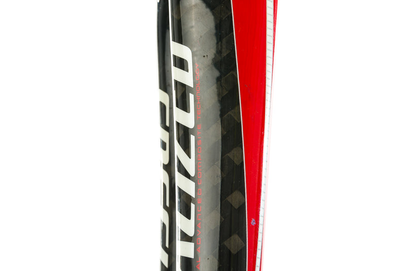 2009 Specialized Tarmac SL Road Fork 700c 9x100mm QR Tapered Carbon Black Red sticker
