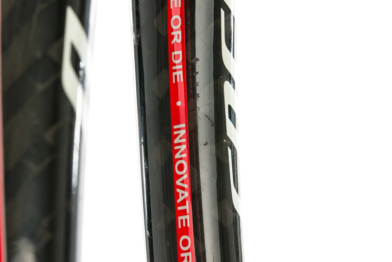 2009 Specialized Tarmac SL Road Fork 700c 9x100mm QR Tapered Carbon Black Red detail 1