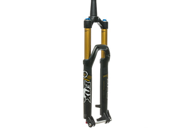 "2014 FOX 34 Talas Factory Fork 27.5"" 160mm 15x100 Thru-Axle Tapered Black- Pre Owned"