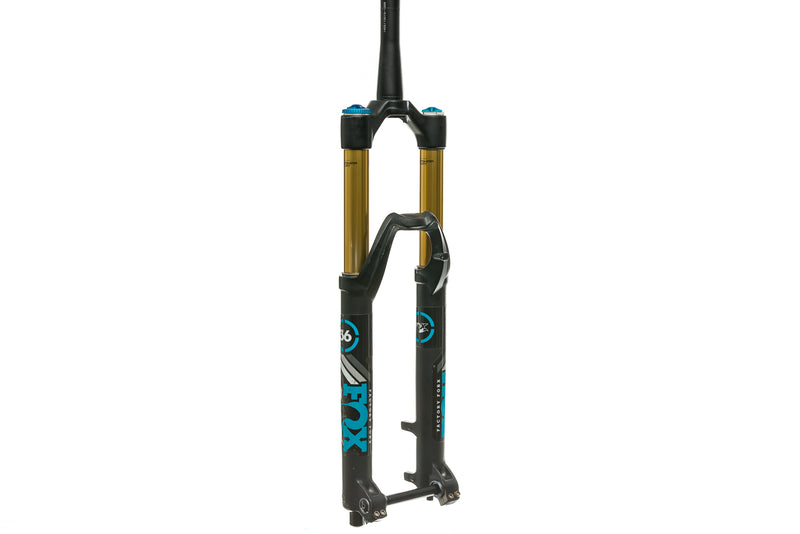 "Fox Factory Float 36 Mountain Fork 27.5"" 160mm 15x100mm Tapered Disc Kashima drive side"
