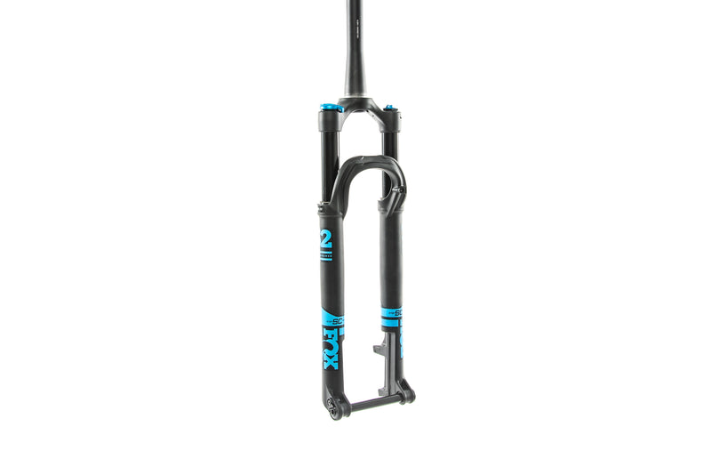 "Fox 32 Float Stepcast Performance Series GRIP 29"" 100mm Fork Boost 44mm Blue - 2020 drive side"
