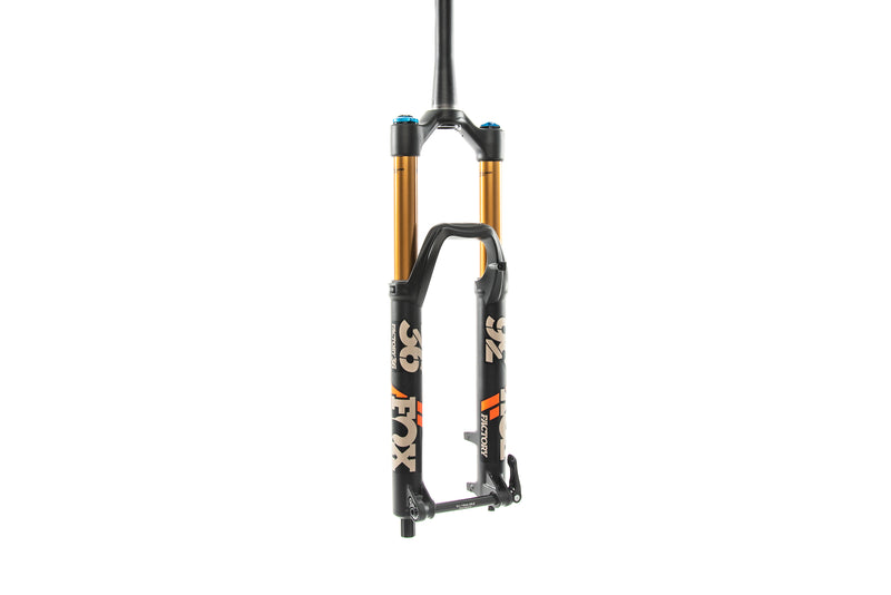 "Fox 36 Float Factory Series GRIP2 27.5"" 160mm Fork Boost 44mm Sand - 2020 drive side"