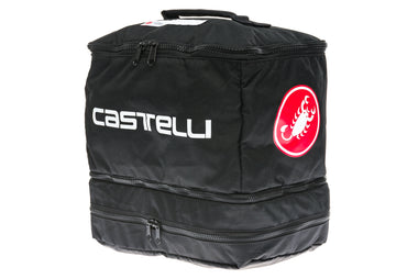 Castelli Race Day Rain Bag Black / Red