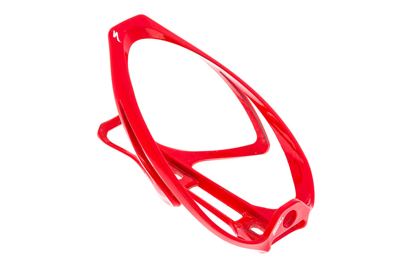 Specialized Rib Cage Plastic Water Bottle Cage Red drive side