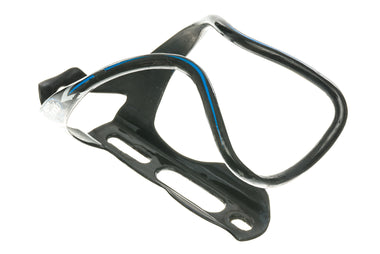 RavX Gamma X  Carbon Water Bottle Cage Black / Blue / Grey