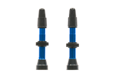 WTB TCS Alloy Presta Valve 34mm 2pcs Blue Tubeless