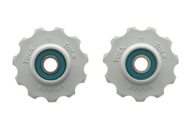 Tacx 11 Teeth Ceramic Jockey Wheel Pulley Set White