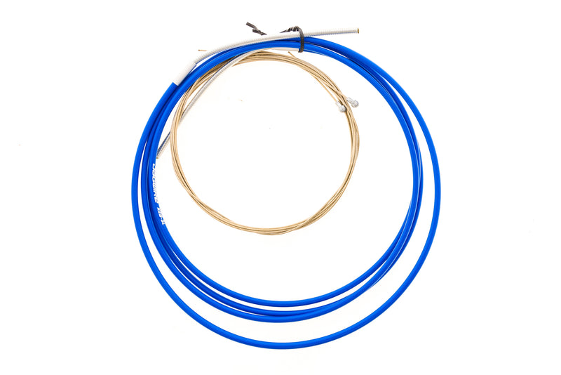Jagwire Road Pro Bake Cable Kit Blue drive side