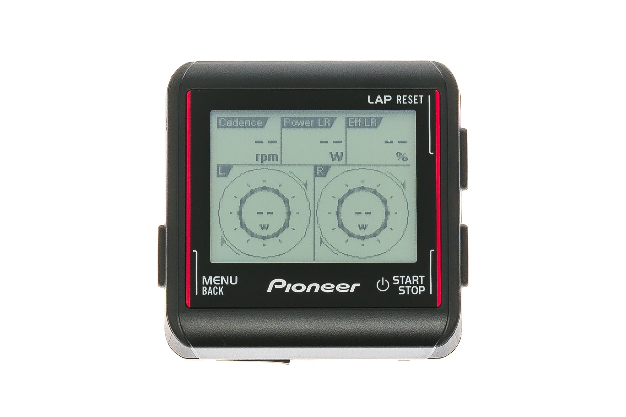 Pioneer SGX-CA500 Cycling Computer ANT+ WI-FI Black/Red non-drive side