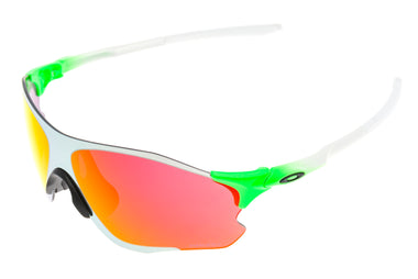 Oakley Evzero Path Sunglasses Green Fade Prizm Field Chrome Iridium