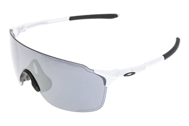 Oakley EV Zero Sunglasses White Frame Grey Lens - Pre-Owned