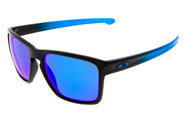 Oakley Sliver XL Sunglasses Black/Blue Fade Frame Prizm Sapphire Lens - Pre-Owned