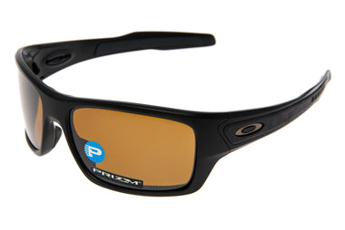 Oakley Turbine Sunglasses Matte Black Frame Prizm Black Lens