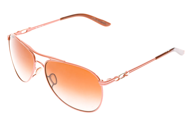 Oakley Daisy Chain Womens Sunglasses Rose Gold Frame Brown Gradient Lens drive side