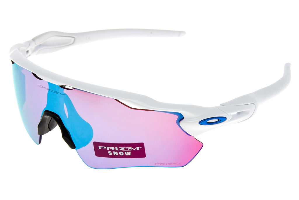 6c56e1ab3b Oakley Radar EV Path Sunglasses Polished White Frame Prizm Sapphire Snow  Lens
