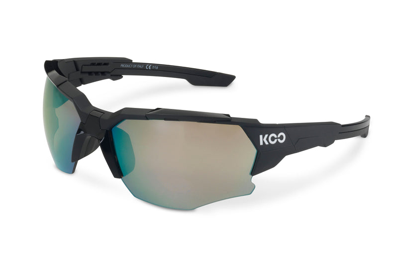 KOO Orion Sunglasses Black Matt Medium drive side