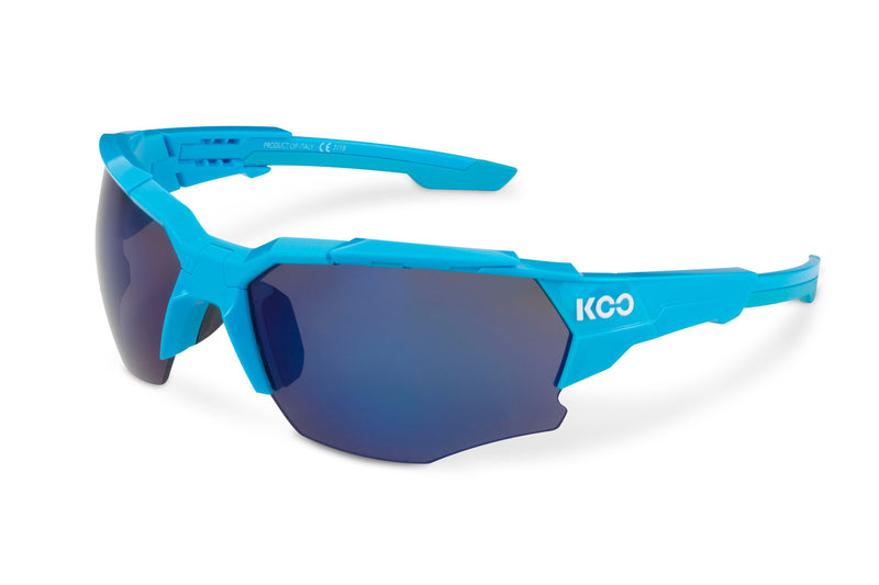 KOO Orion Sunglasses Light Blue Medium drive side