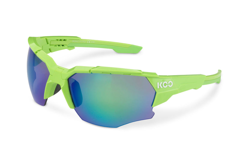 KOO Orion Sunglasses Lime Medium drive side