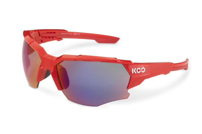 KOO Orion Sunglasses Red Medium drive side