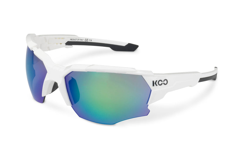 KOO Orion Sunglasses White Medium drive side