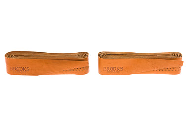 Brooks Leather Handlebar Tape Honey