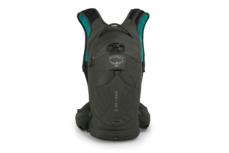 Osprey Men's Raptor 10 Hydration Pack Cedar Green drive side
