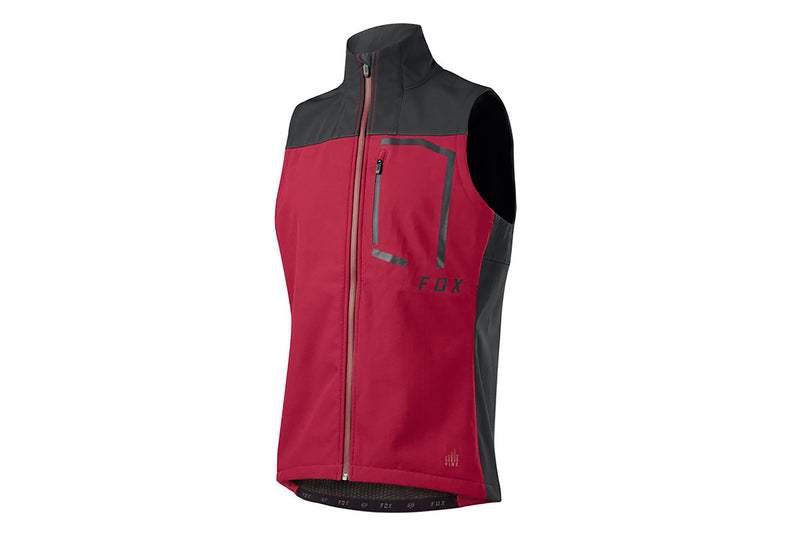 Fox Racing Attack Fire Vest Dark Red drive side