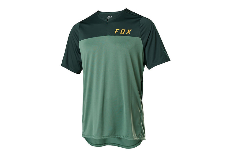 Fox Racing Flexair ZIP Jersey Moss drive side
