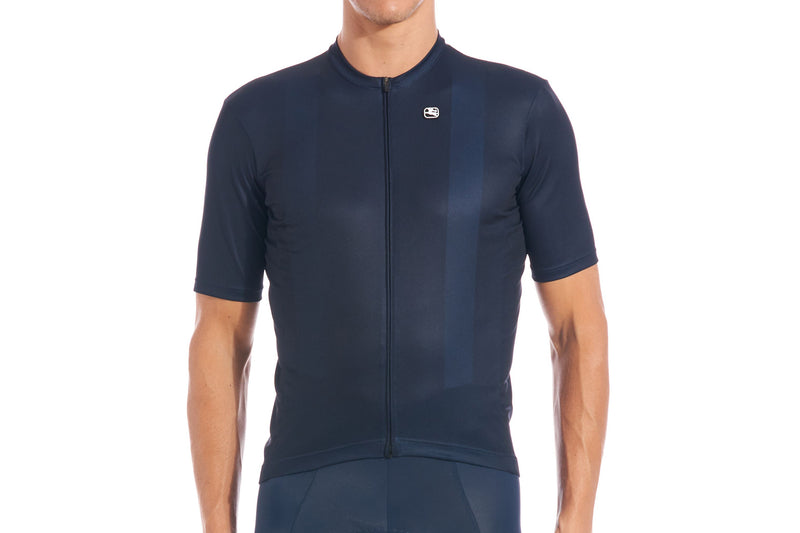Giordana Fusion S/S Men's Jersey Midnight Blue drive side
