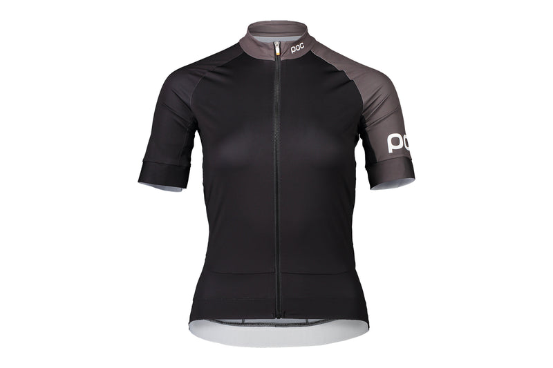 POC Essential Road Women's Jersey Uranium Black/Sylvanite Grey drive side