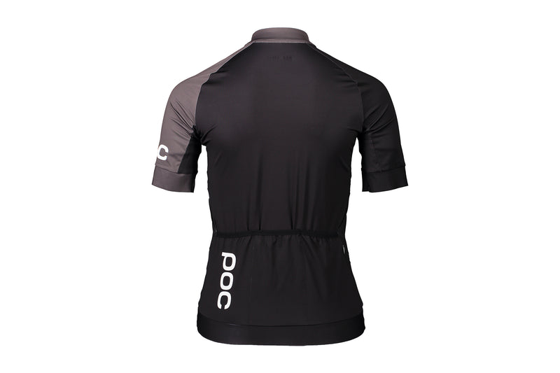 POC Essential Road Women's Jersey Uranium Black/Sylvanite Grey non-drive side