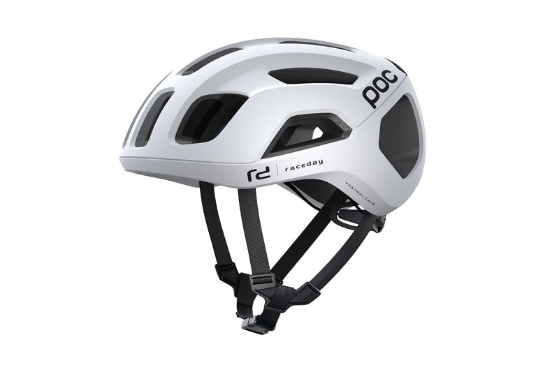 POC Ventral AIR SPIN (CPSC) Bike Helmet Hydrogen White Raceday drive side
