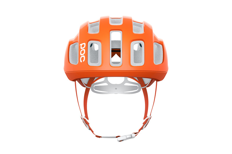 POC Ventral Air SPIN (CPSC) Bike Helmet Zink Orange AVIP non-drive side