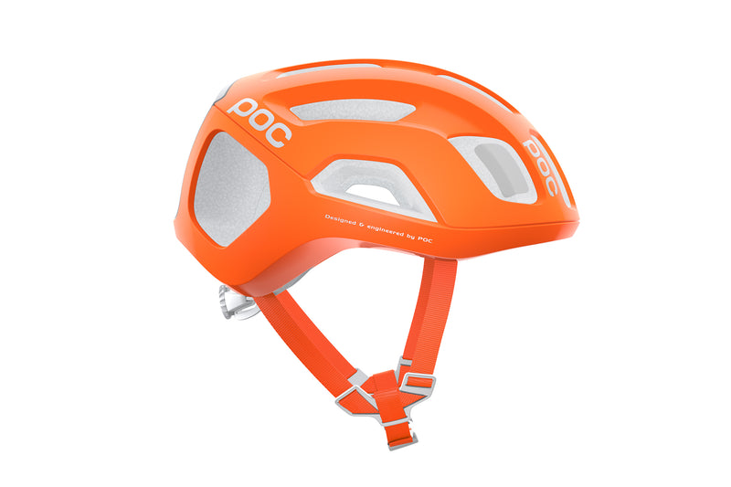 POC Ventral Air SPIN (CPSC) Bike Helmet Zink Orange AVIP drivetrain