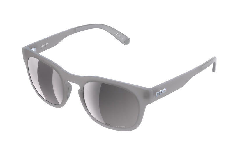 POC Require Sunglasses Moonstone Grey drive side